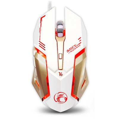 Professional Gaming Mouse V8 Standard Edition Four-Color Breathing Backlight