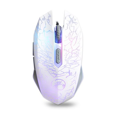 Colorful Breathing Lights Actually Wired Gaming Mouse X5 Computer Peripheral Glare
