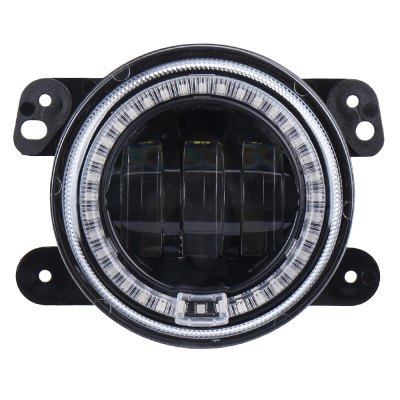 4inch 30W LED Drl Fog Light with Angle Eye for Jeep Wrangler