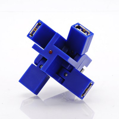 Factory Supply Customized Color Square USB Hub