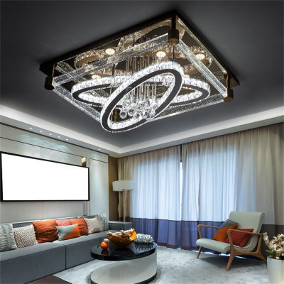 LED Ceiling Lamp Stepless Adjustable Light Cutting Process 216W
