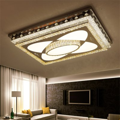 LED Ceiling Lamp Stepless Adjustable Light Cutting Process 360W
