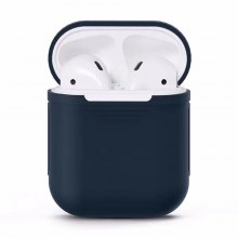 Silicone Shock Proof Protector Sleeve Skin Cover True Wireless Earphone Case for Apple AirPods