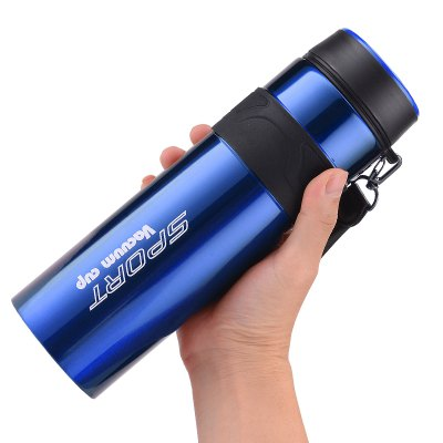 Large Capacity Insulated Mug Portable Space Cup Sports Water Kettle
