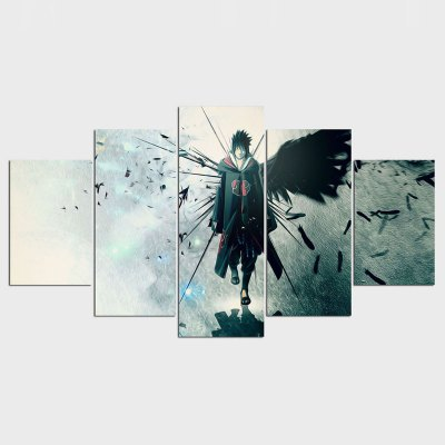 Modern Home Decoration Naruto Anime Painting Canvas Wall Art Picture Home Decoration Living Room