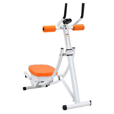 Folding Belly in Machine Double Roller Coaster Multi-function Fitness Equipment Household Abdomen Exercise Instrument