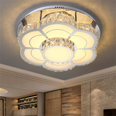 LED Ceiling Lamp Stepless Adjustable Light Cutting Process 96W