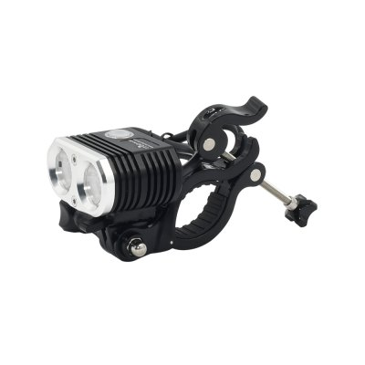ITUO Wiz - XP2 Kit Bicycle Light Front Rechargeable with GoPro Mount (Batteries Included)