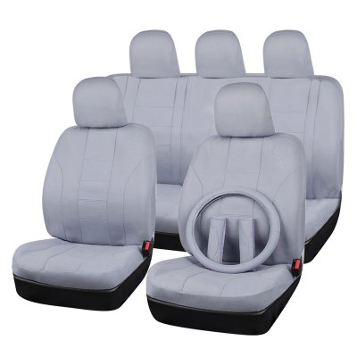 High Quality Mesh Fabric Gray Full Seat Cover