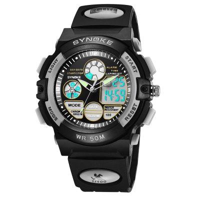 SYNOKE 99266 Multi-function Student Sports Electronic Watch