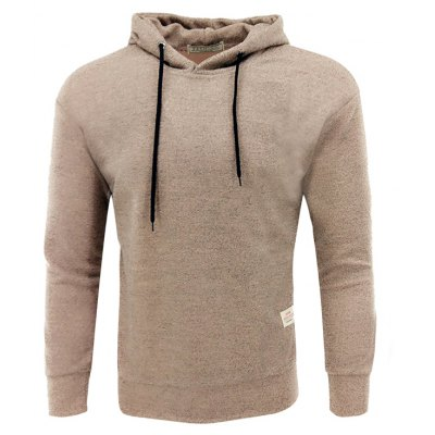 Men'S Spring Autumn Padded Cotton Thread Fashion Casual Hoodie