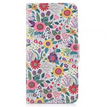 Bicycle Painting Card Lanyard Pu Leather Cover for Samsung J7 prime