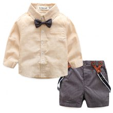 Spring 2018 Baby Boy Gentleman College Wind Suit