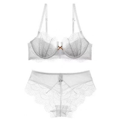 Women Fashion Lingerie Lace Underwear Bra Set