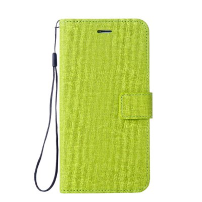 Cotton Pattern Leather Case for LG Q8