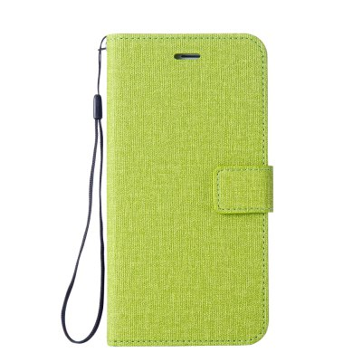 Cotton Pattern Leather Case for Moto C
