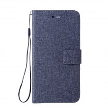 Cotton Pattern Leather Case for Moto G5 Plus