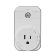 V - SWA1 Smart Plug Mini Wireless Smart Socket Outlet Works with Amazon Alexa Echo Dot Google Home App Remote Control
