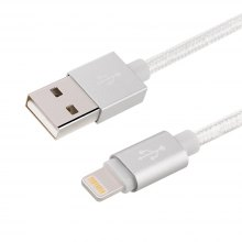 For iPhone Charger 3.3ft Premium Lightning to USB Cable 8 Pin Nylon Braided Charging Cable