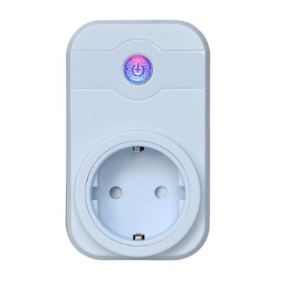 V - SWA1 Remote Control with Timing Scene Settings Function Wifi Smart Socket with Alexa Google Assistant EU Plug