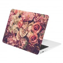 Luxury Flower PC Ultra Thin Cover Case For Macbook Air 13