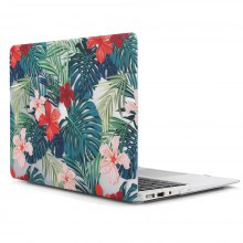 Luxury Leaves and Flower PC Ultra Thin Cover Case for Macbook Air 13