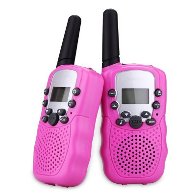 Kids Walkie Talkies Two-way Radios Rechargeable Long Range Talky for Children Cool Outdoor Toys Gifts For Girls / Boys C