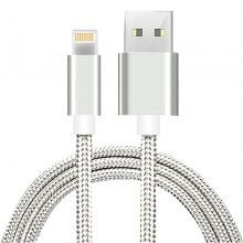 2m Mobile Phone Cables USB Smart Charging Cable for iPhone 7 / 7 Plus / 6S / 6 Plus / 5 / 5S