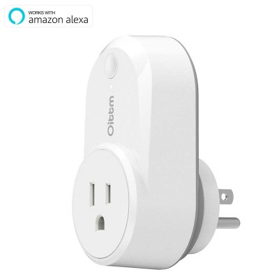 Wifi Smart Plug, Oittm Wireless Switch Outlet Plug in Timer, Works with Amazon Alexa, Control Your Devices from Anywhere