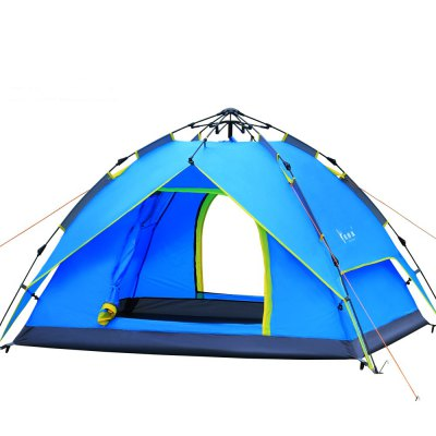 A Simple and Quick Outdoor Tent