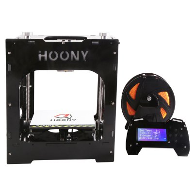 HOONY H2 The New products gadgets Guide Rail Runs 3D Mini Printer with The Small Size and High Precision and Quick Print