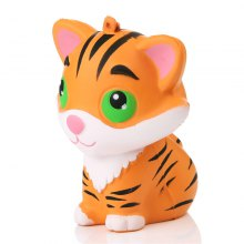 Jumbo Squishy Tiger Squeeze Bread Super Slow Rising Toy