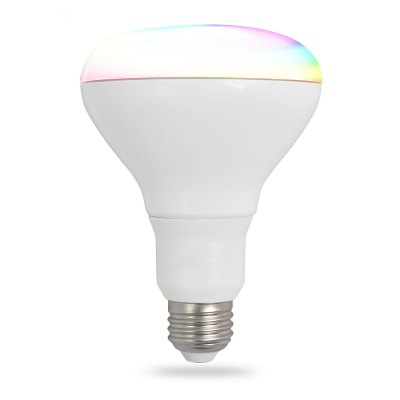 iLintek Smart BLE LED BR30, 9W (65W equivalent), RGB+White,Dimmable Sunrise Sunset Sleeping Party Music Light Bulb