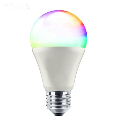iLintek Bluetooth Smart Light Bulb, 9W(60W Equivalent), A60 White Dimmable and Multicolor Changing LED Lighting