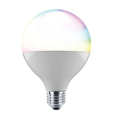 ILintek Bluetooth Smart Light Bulb, 13W(70W Equivalent), G95 White Dimmable and Multicolor Changing LED Lighting
