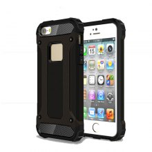 Ultra Thin Shockproof Rugged Impct Hybrid Armor Silicone Back Cover for iPhone 5 / 5S / SE