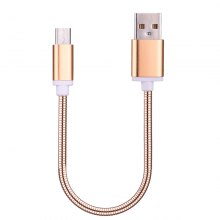 Spring Stripes Micro USB Data Charging Cable 20CM