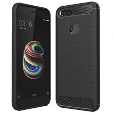 Carbon Fiber TPU Phone Case for Xiaomi Mi A1