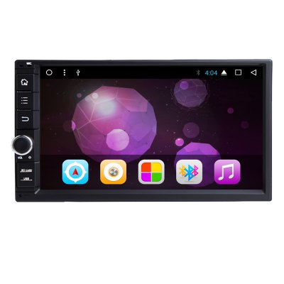 7 inch 2 Din Quard Core 1024 x 600 Android Tablet 2 Din Universal GPS Navigation Radio Stereo Audio Player No DVD