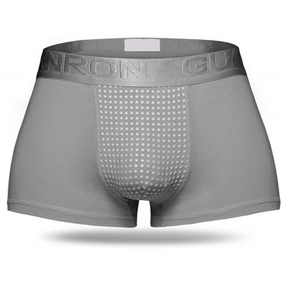 Sexy Modal Cool Breathable Magnetotherapy Healthcare U Convex Boxers for Men