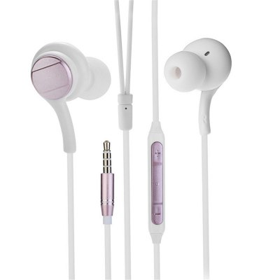 3.5MM In-ear Stereo Music Headphones with Microphone