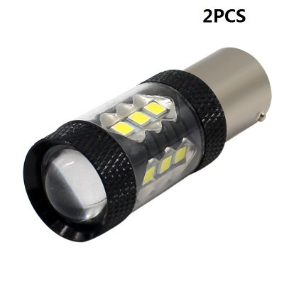 2PCS 2017 New products gadgets 1156 BA15S P21W 16SMD 3030 LED Car Light Turn Signal Light Backup Lamp Bulb