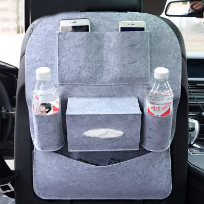 Classic Portable Durable Car Back Seat Storage Bag