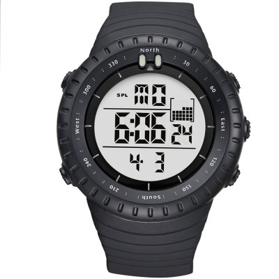 GIMTO Fashion Shock Sports Watch Led Digital Watch Men Waterproof Silicone Military Male Clock Outdoor Diving Watch relo