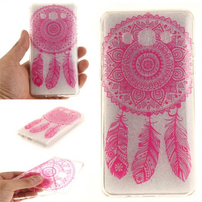Rose Bell Soft Clear IMD TPU Phone Casing Mobile Smartphone Cover Shell Case for Samsung J510 2016