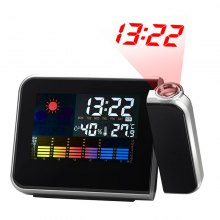 Weather Multi-Function Station Projection Alarm Clock