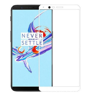 3D Tempered Glass Full Cover 9H Explosion-proof Screen Protector for Oneplus 5t