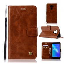 Extravagant Retro Fashion Flip Leather Case PU Wallet Case For Asus Zenfone 3 Max ZC553KL Case Phone Bag With Stand