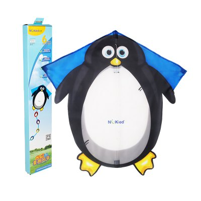 Hand Painted DIY Kite Cartoon Penguin Shaped Kite