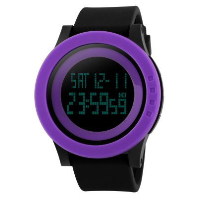 SKMEI Time Beauty Outdoor Sports Electronic Waterproof LED Watch